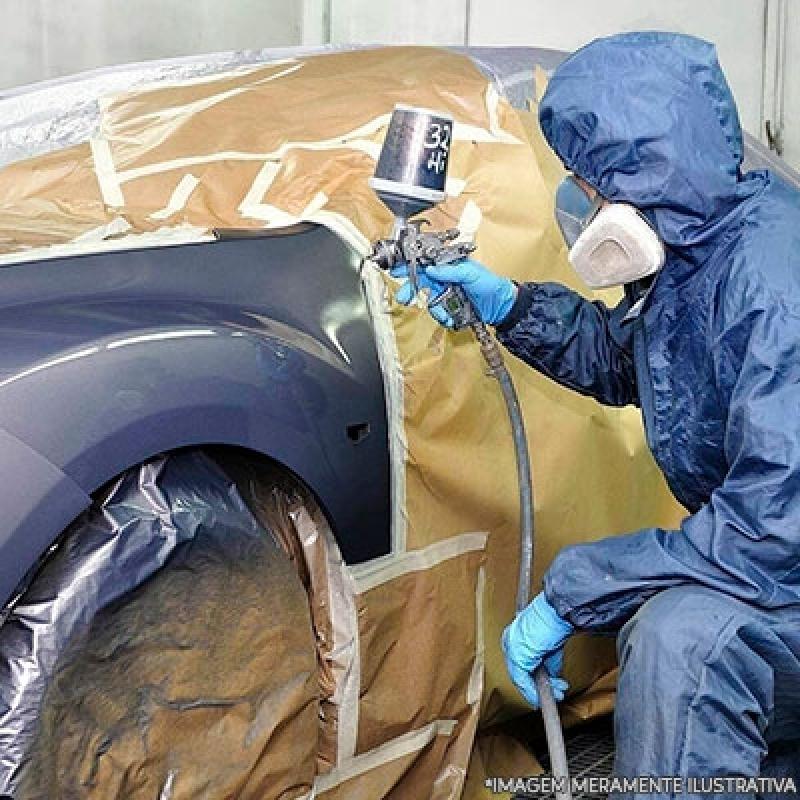 Retoque Pintura Automotiva Santa Cecília - Oficina de Pintura Automotiva