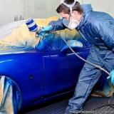 orçamento de serviço de pintura automotiva Chácara Inglesa