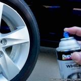 pintar roda de carro Chácara Inglesa