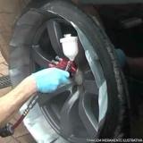 pintura de rodas automotivas