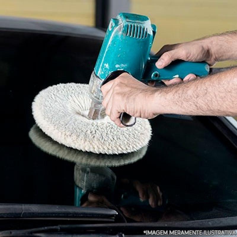 Polimento de Vidro Automotivo Preços Vila Sônia - Polimento e Cristalização