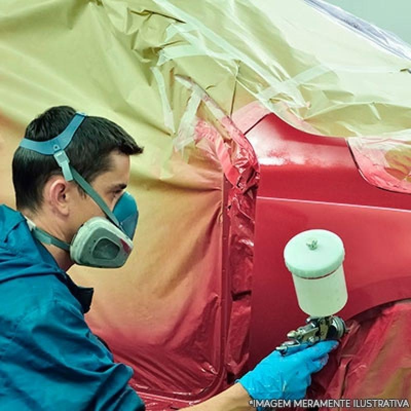 Serviço de Pintar o Carro Pompéia - Pintura de Carro
