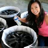 pintar roda carro Água Branca