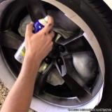 pintura de roda de carro