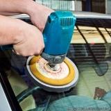 polimento de vidro automotivo Bom Retiro