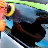 polimento de vidro automotivo